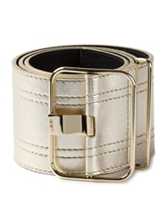 Roger Vivier Large Metallic Belt