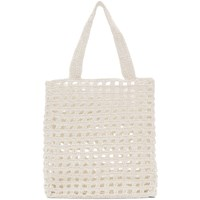 Lauren Manoogian White New Net Tote