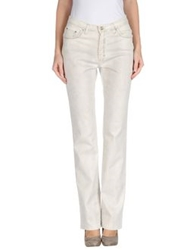 Trussardi Jeans Denim Pants Light Grey
