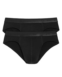 Hom Mini Briefs Pack Of 2 Black