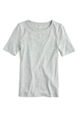 J.Crew Women's New Perfect Fit T Shirt Heather Dusk