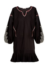 Mes Demoiselles Lords Of Underground Cotton Dress Black