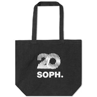 Sophnet Soph.20 Square Logo Large Tote Bag Black