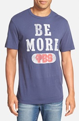 Tailgate 'Pbs Be More' Graphic T Shirt Mast Blue