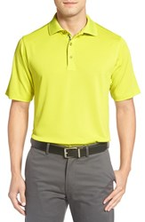 Bobby Jones Men's 'Xh20' Pique Stretch Golf Polo Electric