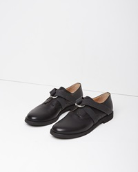 Maison Martin Margiela Calfskin Rubber Oxfords Black