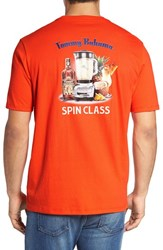 Tommy Bahama Men's Big And Tall Spin Class Graphic T Shirt