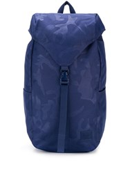 Herschel Supply Co. Thompson Camouflage Print Backpack Blue