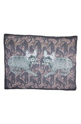 Yigal Azrouel Women's Jagger Leopard Modal And Cashmere Scarf Multi