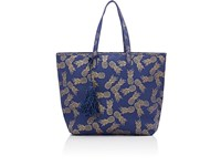 Deux Lux Women's Biscayne Tote Bag Navy