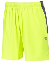 Champion Men's 365 Training Shorts Highlighter