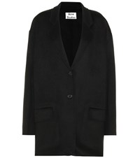 Acne Studios Wool And Cashmere Coat Black
