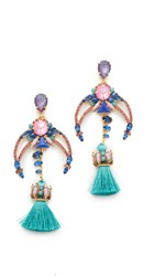 Elizabeth Cole Francesca Earrings Comet Confetti