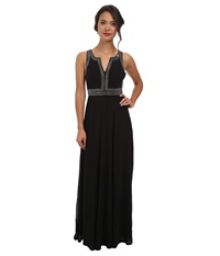 Alejandra Sky Jackelyn Rhinestone Dress Black Women's Dress