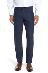 Bugatchi Men's Wool Blend Pants Navy