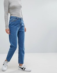 New Look Mom Jean Bright Blue