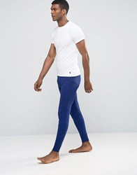Polo Ralph Lauren Meggings In Cotton Stretch Blue