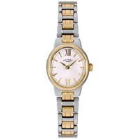 Rotary Lb02747 01 Women's Olivie Two Tone Bracelet Strap Watch Gold Silver