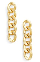 Karine Sultan Women's Linear Earrings Gold