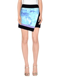 Fausto Puglisi Skirts Mini Skirts Women Sky Blue