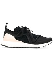 Adidas By Stella Mccartney Perforated Panel Sneakers Black