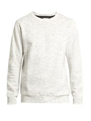 Adidas Originals By Wings Horns Crew Neck Bonded Cotton Jersey Sweater White