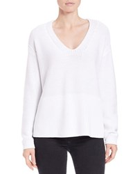 Lord And Taylor Oversized V Neck Pullover