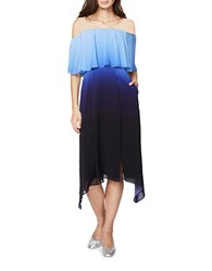 Rachel Roy Ombre Popover Dress Blue Ombre