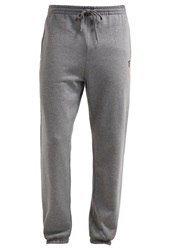 Lyle And Scott Tracksuit Bottoms Mid Grey Marl