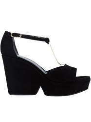 Robert Clergerie 'Daisy' Sandals Black