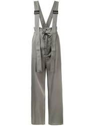 G.V.G.V. Twill Utility Braces Jumpsuit Green