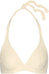 Eres Les Essentiels Bandito Triangle Bikini Top Cream