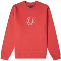 Fred Perry Embroidered Logo Sweat