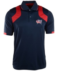 Antigua Men's Short Sleeve Columbus Blue Jackets Fusion Polo