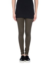 Le Tricot Perugia Trousers Leggings Women Military Green