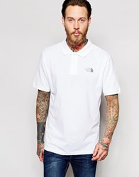 The North Face Polo Shirt With Logo White