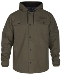Hurley Men's Belesky 2.0 Hooded Jacket Faded Olive
