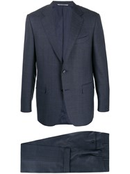 Canali Checked Two Piece Formal Suit 60