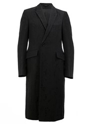 Ann Demeulemeester Long Blazer Coat Black