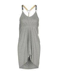 Met Short Dresses Grey