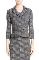 St. John Women's Collection Lela Tweed Knit Jacket