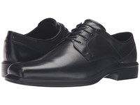 Ecco Johannesburg Plain Tie Black Men's Shoes
