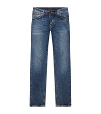 Nudie Jeans Grim Tim Slim Male Blue