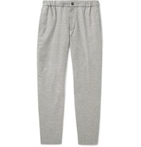 Club Monaco Tapered Donegal Woven Trousers Light Gray