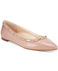 Inc International Concepts Women's Zabbie Pointed Toe Flats Only At Macy's Women's Shoes Blush
