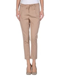 Liu Jo Casual Pants Light Brown