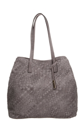 Abro Tote Bag Taupe Grey
