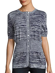 Jil Sander Knit Short Sleeve Top Grey