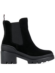 Tommy Hilfiger Ridged Sole Boots Black