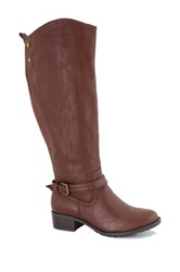 Intaglia Memphiis Extra Wide Calf Riding Boot Brown